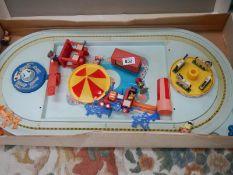 A boxed Magic Roundabout play set.