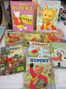 9 Rupert annuals.