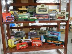 2 shelves of Days Gone buses etch.
