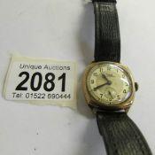 A 9ct gold Rone wristwatch.