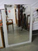 A retro style mirror.