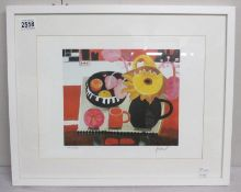 Mary Fedden (1915-2012) Pencil signed and numbered limited edition print 483/550 entitled 'The