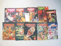 A good collection of 4 Planet Stories,