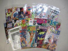A collection of 20 1st edition comics in bags including Rai, E-man, Nexus, Magnus, X-Men,