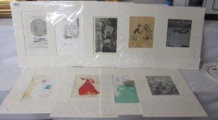 Pablo Picasso lithographic print (Mourlot) circa 1958,