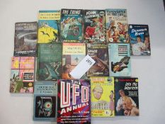 A good collection of 15 Science Fiction books including The Thing from Another World,