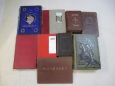 A good selection of 12 Antiquarian and Collectable books including British & Foreign Arms and