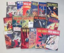 A collection of 17 of New Worlds Science Fiction magazines
