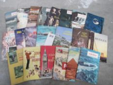 A collection of Science Service Science Programme magazines