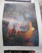 A nice collection of 5 unframed Margaret Tarrant Fairy prints from The Medici Society including The