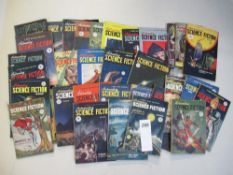 A vert good collection of 35 Astounding Science Fiction magazines from the 1940s and 1950s