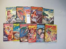 A good collection of 11 Startling Stories magazines