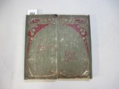 A good postcard album with double opening in front including topographical etc (approx 180