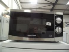 A Morphy Richards microwave