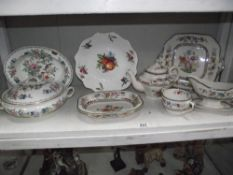 A quantity of Spode and Aynsley ware