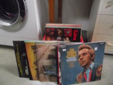 27 country music LPs all autographed including British bands
