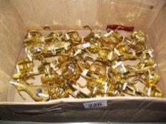 A box of door handles