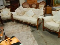 An early 20th century 3 piece suite.