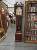 A Tempus Fugit longcase clock, approx.