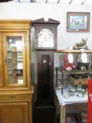 A Tempus Fugit longcase clock