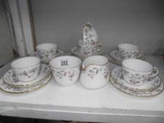 A 20 piece Minton tea set 'Suzanne'