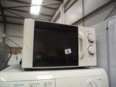 A 700w microwave
