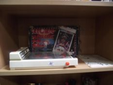 A vinatge boxed Palitoy Atomic Arcade pin ball toy with instructions (Box a/f)
