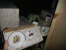 5 boxed Royalty cups and saucers etc.