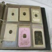 An album of Victorian photographs