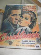 A canvas depicting Casablanca,