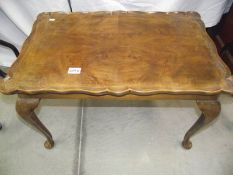A 1930's table on Queen Anne legs
