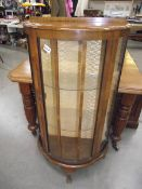 A 1930's display cabinet.