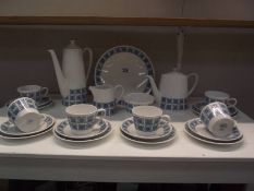 A Royal Tuscan 'Charade' tea set.
