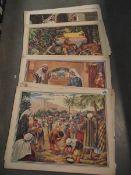 A quantity of prints by John Turner.