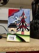A Lorna Bailey clock.