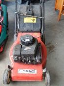A laser classic lawn mower.
