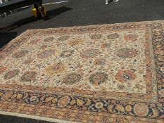 A good old carpet in good condition but needs cleaning.