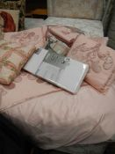 A quantity of new linen.