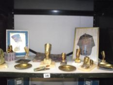 A collection of modern Egyptian artifacts, pictures etc.