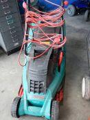 A Bosch lawn mower.