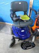 A power wheel chair.