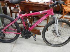 A Comera push bike.
