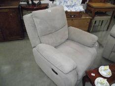 A reclining 3 piece suite.