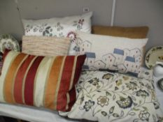 A selection of stylish cushions
