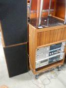 An old stereo system.