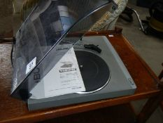 A Bush turntable.