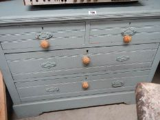 A 2 over 2 chest of drawers.