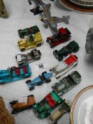 A mixed lot of die cast models.