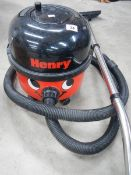 A Henry vacuum cleaner.