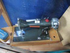 A Seamstress sewing machine
